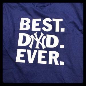 BEst dad ever, Yankees t shirt
